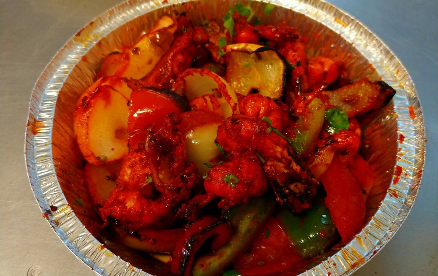King Prawn Shashlik